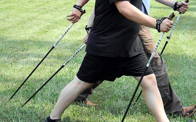 Скандинавская ходьба техника ходьбы для похудения