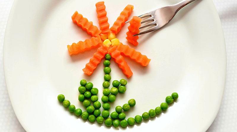 как оформить детские блюда