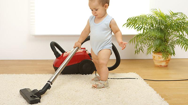 Как приучить сына помогать по дому