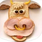 Оформление детских блюд