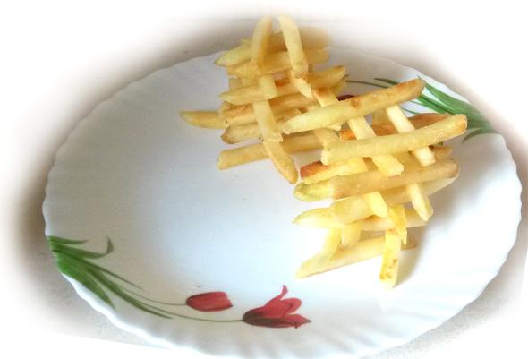 картофель фри колодец