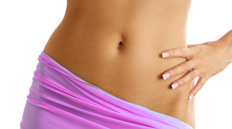 как разбить жир на животе