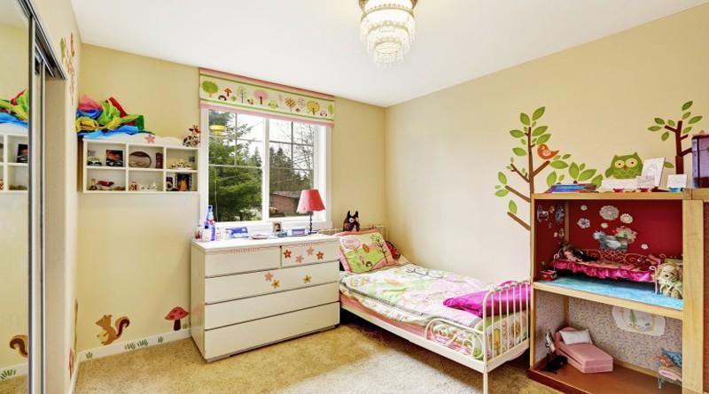 Правила интерьера для спальни маленького ребенка