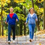 Скандинавская ходьба с палками: польза и вред