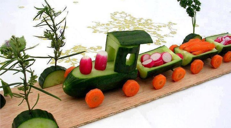 Своими руками поделки из осенних овощей
